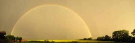 Regenbogen auf Rügen