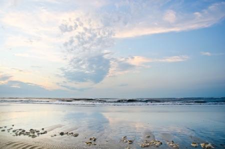 Nordsee - Deutschland - Meer und Strand bei Ebbe